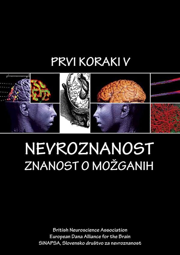 Naslovnica knjižice Prvi koraki v nevroznanost